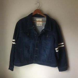 Angel Kiss LA Jean jacket sz XXL